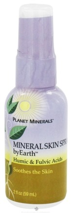DROPPED: Planet Minerals - byEarth Mineral Skin Spray Humic & Fulvic Acids - 2 oz. CLEARANCE PRICED