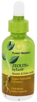 DROPPED: Planet Minerals - byEarth Zeolite+ Humic & Fulvic Acids - 2 oz.