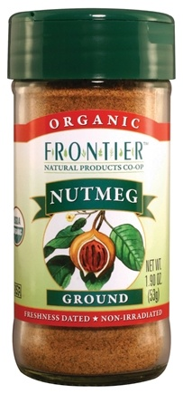 DROPPED: Frontier Natural Products - Nutmeg Ground Organic - 1.9 oz. CLEARANCE PRICED
