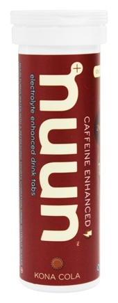 Nuun - Electrolyte Enhanced Drink Tabs Kona Cola - 12 Tablets