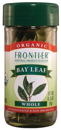 DROPPED: Frontier Natural Products - Bay Leaf Whole Organic - 0.15 oz. CLEARANCE PRICED