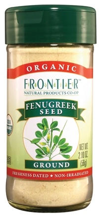 DROPPED: Frontier Natural Products - Fenugreek Seed Ground Organic - 2 oz. CLEARANCE PRICED