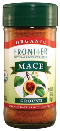 DROPPED: Frontier Natural Products - Mace Ground Organic - 1.76 oz. CLEARANCE PRICED
