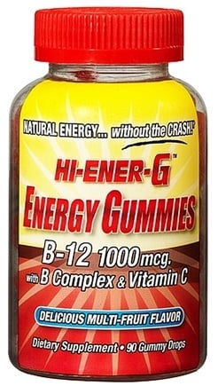 DROPPED: Windmill Health Products - Hi-Ener-G Gummies B-12 with B Complex & Vitamin C Berry - 90 Gummies
