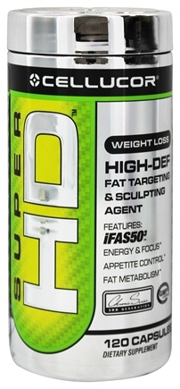 DROPPED: Cellucor - Super HD Fat Targeting & Sculpting Agent - 120 Capsules