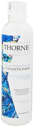 DROPPED: Thorne Research - Organics Conditioner Unscented Blend with Vitamin E - 8.5 oz. CLEARANCE PRICED