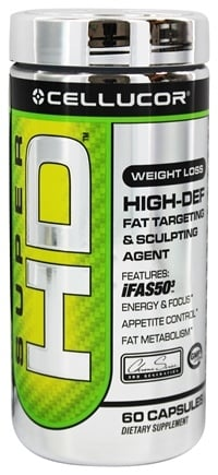 DROPPED: Cellucor - Super HD Fat Targeting & Sculpting Agent - 60 Capsules