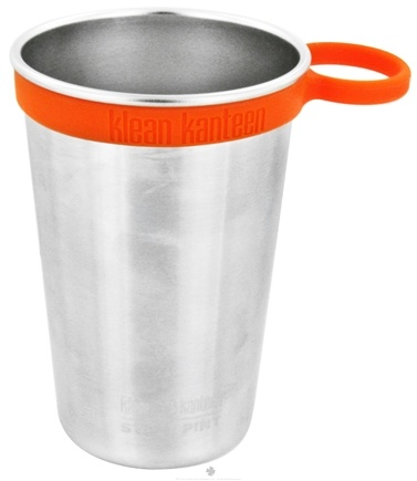 DROPPED: Klean Kanteen - Silcone Pint Cup Ring Orange - CLEARANCE PRICED