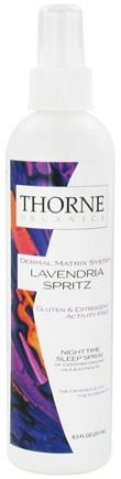 DROPPED: Thorne Research - Organics Lavendria Spritz Nightime Sleep Spray - 8.5 oz. CLEARANCE PRICED