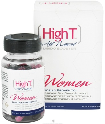 DROPPED: High T - All Natural Libido Booster for Women - 60 Capsules CLEARANCE PRICED