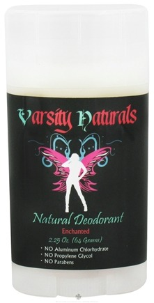 DROPPED: Varsity Naturals - Teen Natural Deodorant For Girls Enchanted - 2.25 oz.