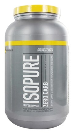 Nature's Best - Isopure Perfect Zero Carb Banana Cream - 3 lbs.