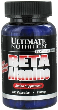 DROPPED: Ultimate Nutrition - Platinum Series Beta Alanine - 100 Capsules