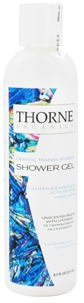 DROPPED: Thorne Research - Organics Shower Gel Unscented Blend with Vitamin E - 8.5 oz. CLEARANCE PRICED
