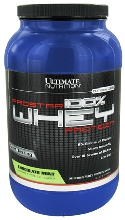 DROPPED: Ultimate Nutrition - Platinum Series ProStar 100% Whey Protein Chocolate Mint - 2 lbs. CLEARANCE PRICED