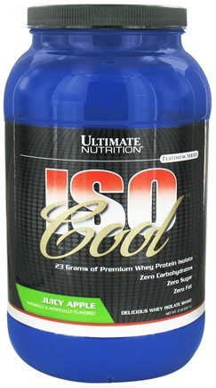 DROPPED: Ultimate Nutrition - Iso Cool Juicy Apple - 2 lbs. CLEARANCE PRICED