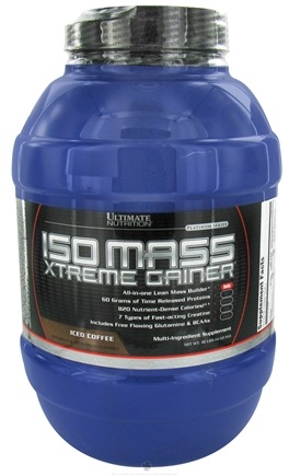 DROPPED: Ultimate Nutrition - Platinum Series Iso Mass Xtreme Gainer Iced Coffee - 10 lbs. CLEARANCE PRICED