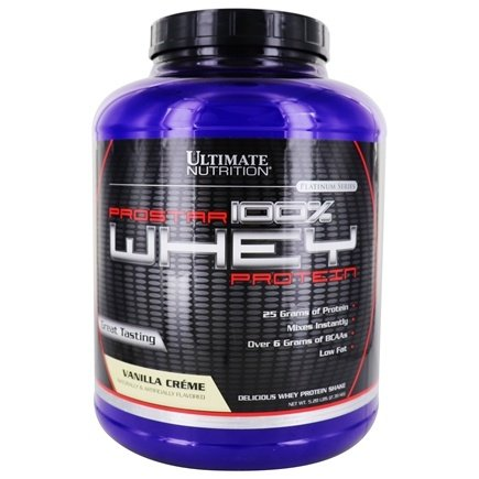 DROPPED: Ultimate Nutrition - Platinum Series ProStar 100% Whey Protein Vanilla Creme - 5.28 lbs. CLEARANCE PRICED