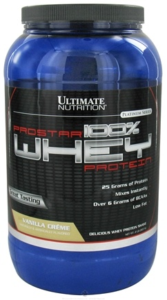 DROPPED: Ultimate Nutrition - Platinum Series ProStar 100% Whey Protein Vanilla Creme - 2 lbs. CLEARANCE PRICED