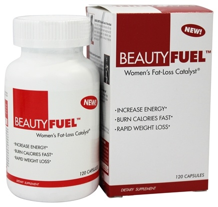 DROPPED: BeautyFit - BeautyFuel Women's Fat Loss Catalyst - 120 Capsules CLEARANCE PRICED