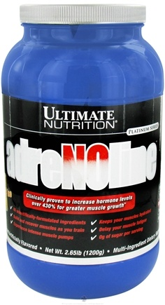 DROPPED: Ultimate Nutrition - Adrenoline Orange Ice - 2.65 lbs. CLEARANCE PRICED