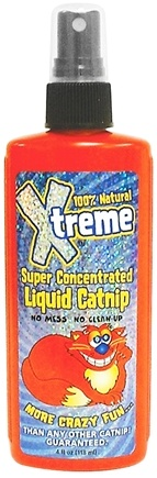 DROPPED: Synergy Labs - 100% Natural Xtreme Catnip Super Concentrated Liquid Spray - 4 oz.