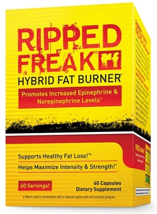 DROPPED: PharmaFreak Technologies - Ripped Freak Hybrid Fat Burner - 60 Capsules