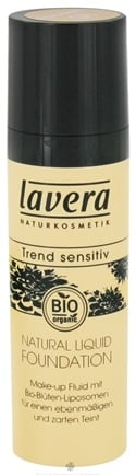 DROPPED: Lavera - Natural Liquid Foundation Porcelain - 1 oz. CLEARANCE PRICED