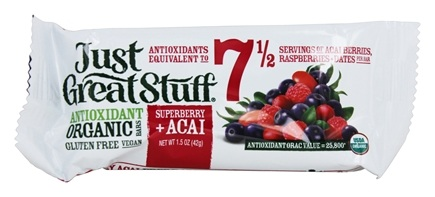 Betty Lou's - Just Great Stuff Bar Organic Superberry Acai - 1.5 oz.