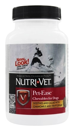 DROPPED: Nutri-Vet - Pet-Ease For Dogs Liver - 60 Chewables