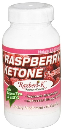 DROPPED: Fusion Diet Systems - Raspberry Ketone Fusion - 60 Capsules