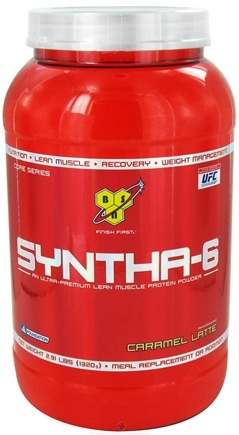 DROPPED: BSN - Syntha-6 Sustained Release Protein Powder Caramel Latte - 2.91 lbs.