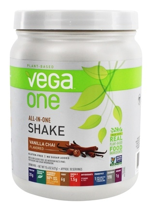 Vega - All-in-One Nutritional Shake Vanilla Chai - 15.4 oz.
