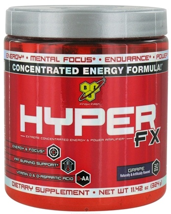 DROPPED: BSN - Hyper FX Extreme Concentrated Energy & Power Amplifier Grape - 11.42 oz.