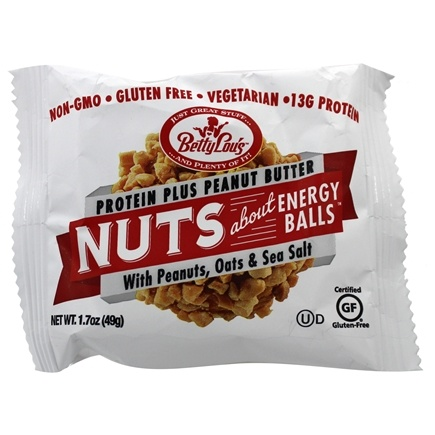 Betty Lou's - Nuts About Peanut Butter Protein Plus Energy Balls - 1.7 oz.