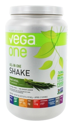 Vega - All-in-One Nutritional Shake Natural - 30.4 oz.
