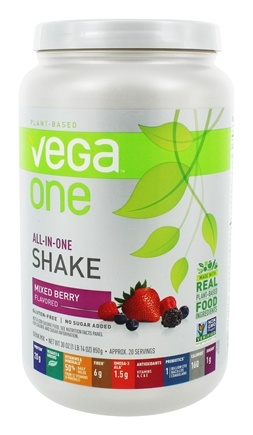 Vega - All-in-One Nutritional Shake Mixed Berry - 30 oz.