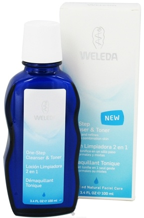 DROPPED: Weleda - One Step Cleanser and Toner - 3.4 oz. CLEARANCE PRICED