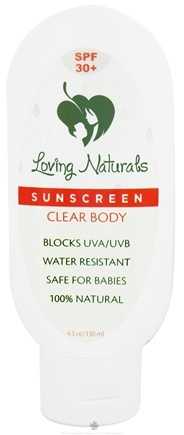 DROPPED: Loving Naturals - Non-Nano Sunscreen Clear Body 30 SPF - 4.3 oz. CLEARANCE PRICED