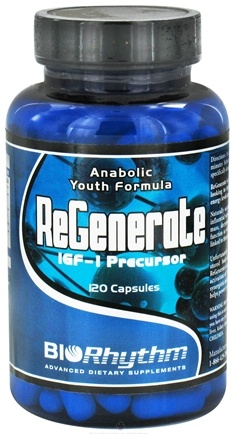 DROPPED: BioRhythm - ReGenerate Anabolic Youth Formula - 120 Capsules CLEARANCE PRICED