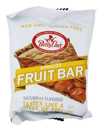 Betty Lou's - Fruit Bars Gluten Free Apricot - 2 oz.