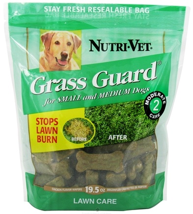 DROPPED: Nutri-Vet - Grass Guard Wafers Chicken - 19.5 oz.