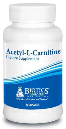 DROPPED: Biotics Research - Acetyl-L-Carnitine - 90 Capsules CLEARANCE PRICED