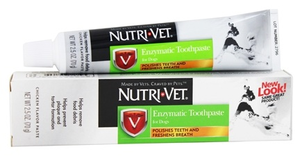 Nutri-Vet - Enzymatic Toothpaste For Dogs Chicken - 2.5 oz.
