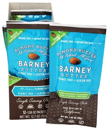 Barney Butter - All Natural Almond Butter - 1.06 oz.