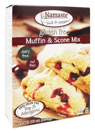 Namaste Foods - Gluten Free Muffin & Scone Mix - 16 oz.
