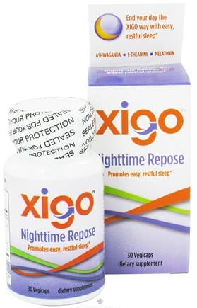 DROPPED: Xigo Health - Nighttime Repose - 30 Vegetarian Capsules