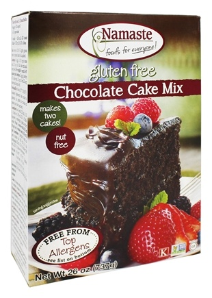 Namaste Foods - Gluten Free Chocolate Cake Mix - 26 oz.