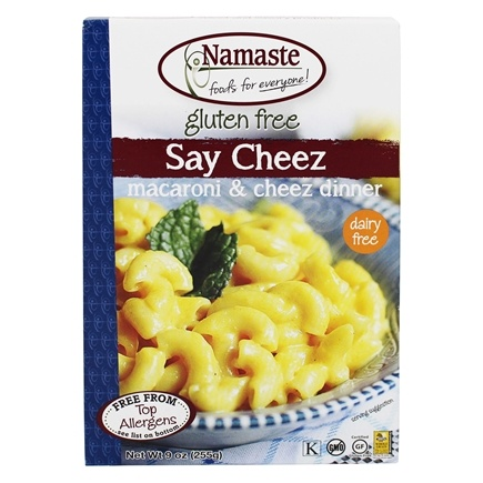 Namaste Foods - Gluten Free Gluten Free Say Cheez Non-Dairy Macaroni & Cheez Dinner - 9 oz. Formerly Say Cheez Non-Dairy Pasta Dish
