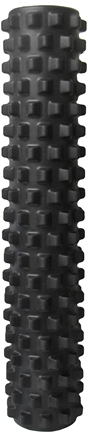 """DROPPED: STI - Rumble Roller - 31"""" Extra Firm Black"""